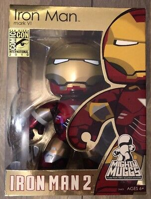 Iron Man 2 Mighty Muggs SDCC 2010 Marvel Comics