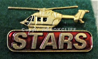 STARS AIR AMBULANCE HELICOPTER Lapel Pin Mint