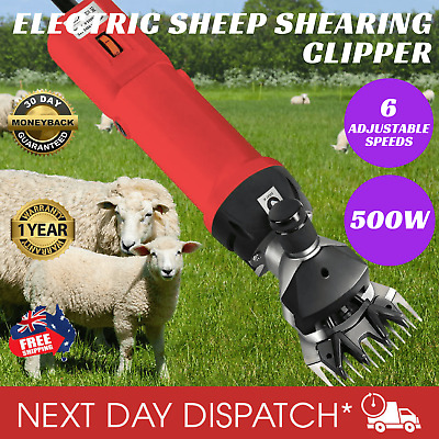 New Electric Shearing Clippers Sheep Alpaca Goat Shear Comb Clipper Farm 500W