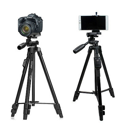 Tripod for Camera and Smartphones YUNTENG 5208 with Bluetooth Remote (125 cm )