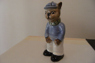 Vintage Bone China Cat Figurine by Weetman of England