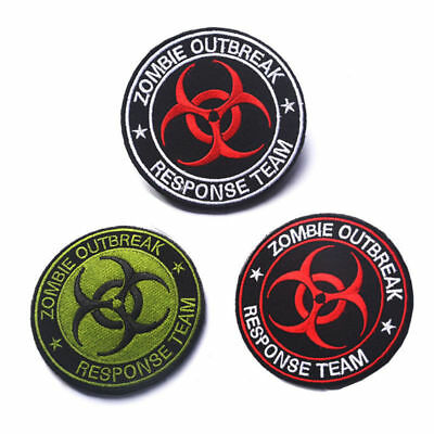 Hot ZOMBIE HUNTER OUTBREAK RESPONSE TEAM TACTICAL BIOHAZARD PATCH New