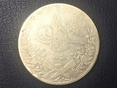 DATE NOT CLEAR MAYBE 1217 / 32 PERIOD OF OTTOMAN SILVER COINS size 33mm #O10#