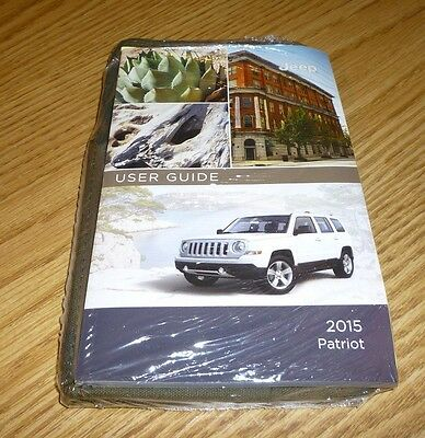 jeep patriot owners manual