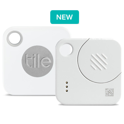 NEW Tile Mate 2018 Mini Tracking Device [with replaceable battery]