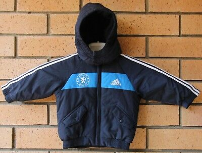 Adidas Chelsea Baby Puffy Hoody Jacket 3-6 Months