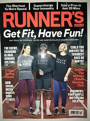 Runner's World Magazine - March 2018