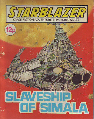 Starblazer  No 23 Slaveship Of Simala  Space Fiction Adventure In Pictures 1980