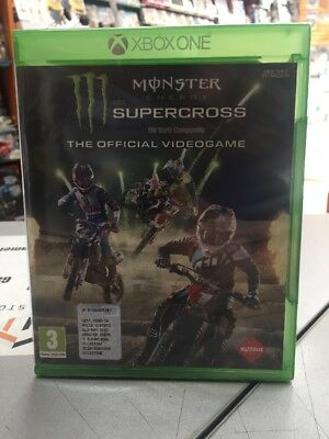 Monster Energy Supercross The Official Videogame Ita XBox One NUOVO SIGILLATO