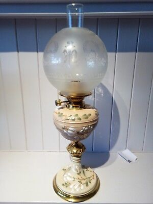 Taylor Tunicliffe Hinks oil lamp.