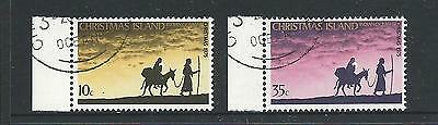 1975 Christmas Set of 2 Very Fine Used