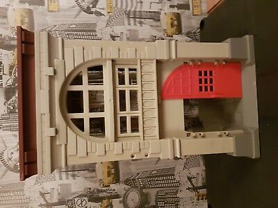 vintage ghostbusters firehouse