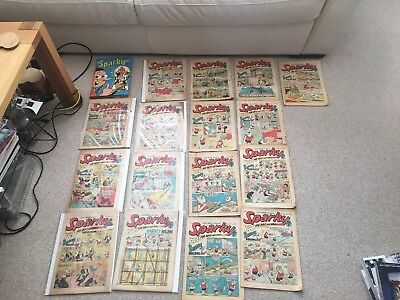 Sparky 1970 17 Issues Plus Annual