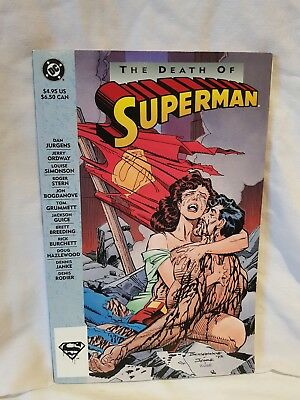 The Death of Superman by DC Comics (Paperback 1992-1993)