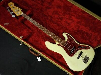 Fender Custom Shop 1964 Jazz Bass Closet Classic Used Bass Free Shipping #tb45