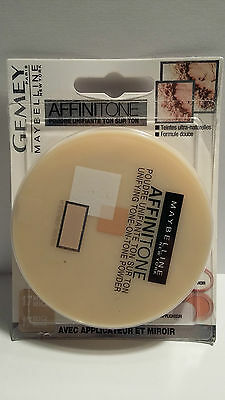 Poudre Affinitone 17 Beige Rosé Gemey Maybelline