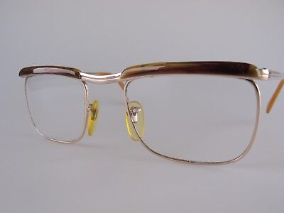 Vintage BÖHLER River Gold Filled Eyeglasses Size 52-20 135 Made in Germany