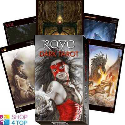 Royo Dark Tarot Deck Cards Esoteric Fortune Telling Lo Scarabeo New