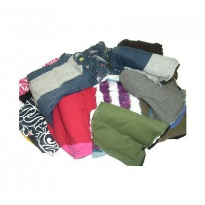 Multi Purpose Polishing 'Rags-In-A-Bag' 2 x 10 kg Coloured cotton Rag Clothes