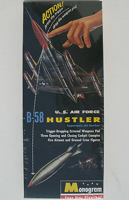Monogram 6821 - U.S. AIR FORCE B-58 HUSTLER - 1:121 - Modellbausatz - Kit - MISB