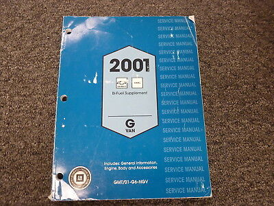 2001 chevrolet chevy express / van owners manual: chevrolet.