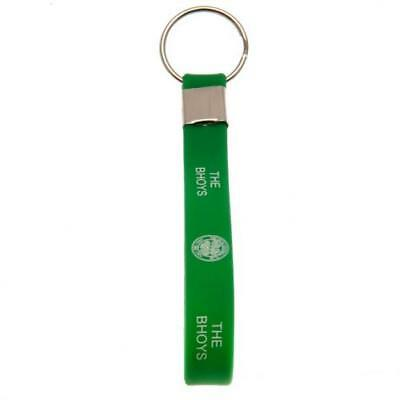 Celtic Football Club Official Silicone Key Ring Chain Team Crest Badge