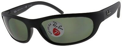 Ray-Ban Predator Sunglasses RB4033 601S48 Black | Green G-15 Polarized Lens 60mm