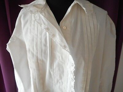 Chemise Ancienne Blanche