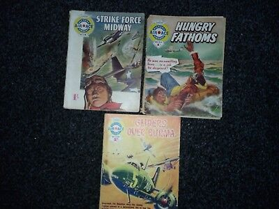 air ace picture library comics numbers 14,64,228