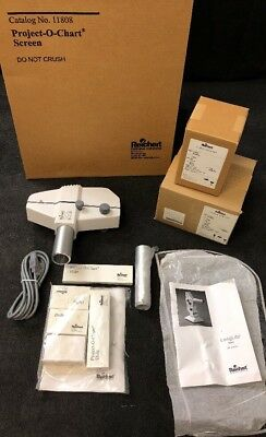 NEW REICHERT LongLife Ophthalmic P.O.C. Projector 12084 w/Accessories & Mounts