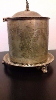 Silver Plated Biscuit Barrel, Mappin Brothers 222 Regent St &. Antique ?