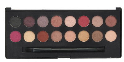 Technic Pro Finish 16 Colour Eyeshadow Palette-Raspberry Edition