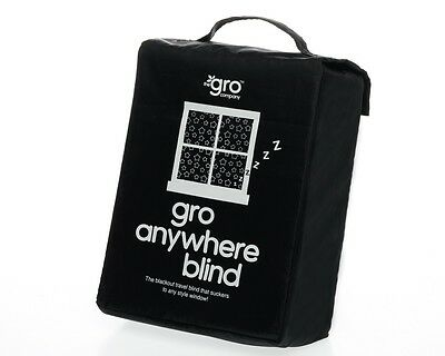 The Gro Company Gro Anywhere Blackout Blind Travel Baby Curtains For Any Window