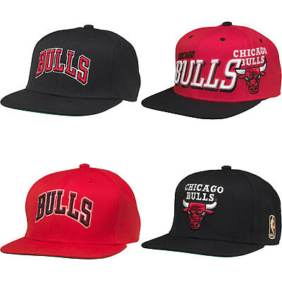 Chicago Bulls Baseball Cap NEW Sports Mitchell & Ness Basketball Team NBA USA