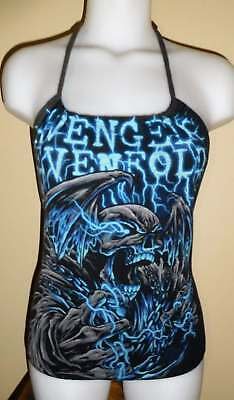 Avenged Sevenfold Reconstructed Concert Tour Shirt Halter Top DiY