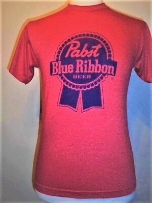 Classic Logo PABST BLUE RIBBON Beer T-shirt
