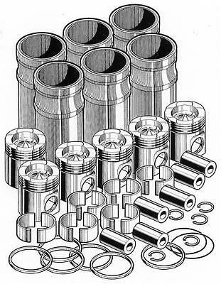 Out Of Frame Engine Overhaul Rebuild Kit For Caterpillar C15 Pai P