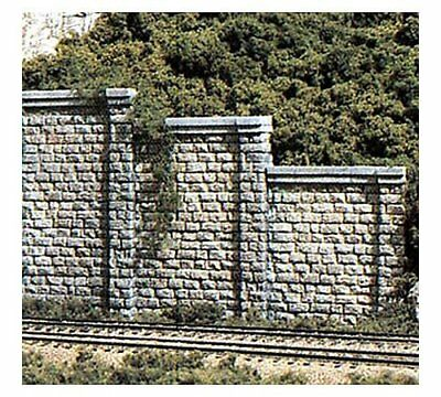 Woodland Scenics #1159 N SCALE - CUT STONE RETAINING WALLS 6 SECTIONS - C1159