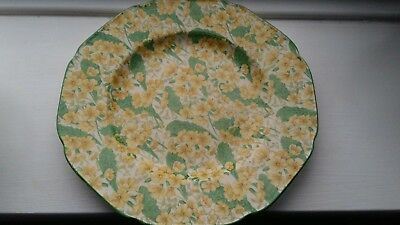 Crown Ducal Primula Chintz Dinner Plate