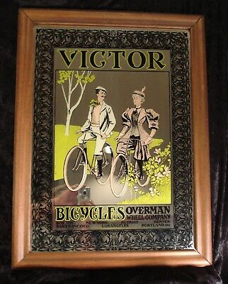 Overman Wheel Co 1896 Vintage Style Advertising Poster 16x24 Victor Bicycles