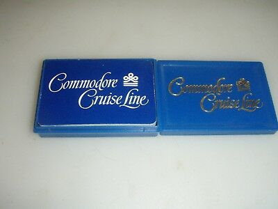 Commodore Cruise Line Playing Cards