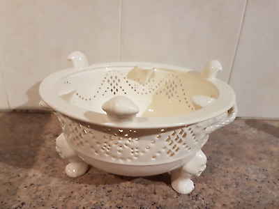 Royal Creamware  Masterpieces chocolate kettle/tea pot stand(STAND ONLY)