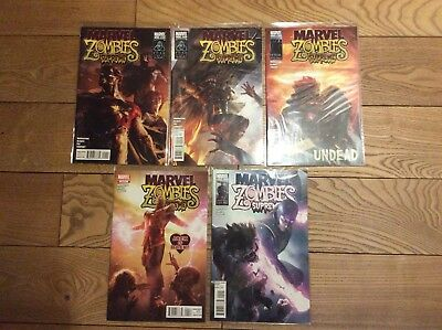 Marvel Comics Marvel Zombies Supreme 1-5 komplett