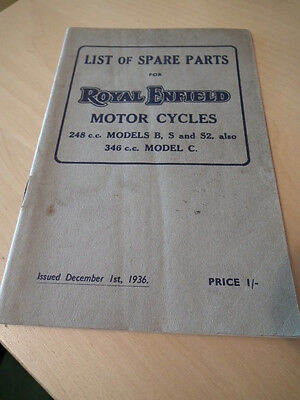 ROYAL ENFIELD  REPLACEMENTS LIST, ROYAL ENFIELD 248 cc MODELS.