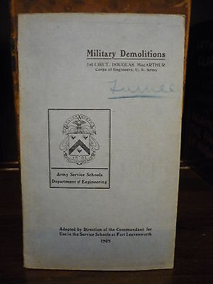 General Douglas MacArthur RARE 1st Publication 1909 Army WW2 WWII