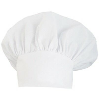 6 Pack New Chef Hat White Black Or Red Authentic Cloth One Size Usa Seller