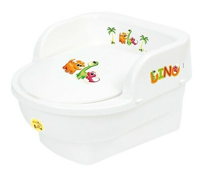 Supreme Baby Chamber Potty (Dino White, Throne)