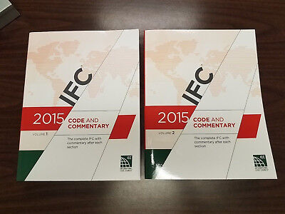 2015 International Fire Code Commentary (IFC) Soft Cover - 2 Volume Set