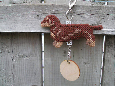 Dachshund Smooth #3 dog crate tag or hang anywhere handmade sign ornament art