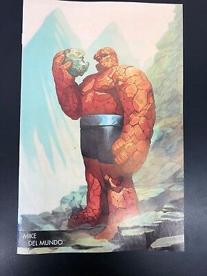 Marvel Two-in-One #3 (Marvel, 2018) Young Guns Mike Del Mundo Variant Edition